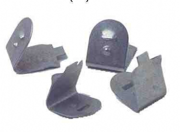 Metal replacement clips